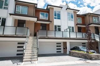 """Photo 1: 4676 CAPILANO Road in North Vancouver: Canyon Heights NV Townhouse for sale in """"Canyon North"""" : MLS®# R2591103"""