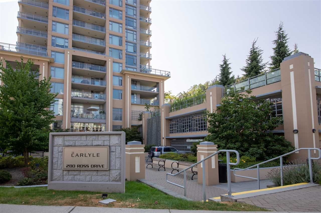 Main Photo: 1106 280 ROSS DRIVE in New Westminster: Fraserview NW Condo for sale : MLS®# R2294395