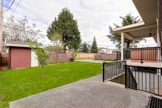 Photo 19: 7666 CUMBERLAND STREET - LISTED BY SUTTON CENTRE REALTY in Burnaby: The Crest House for sale (Burnaby East)  : MLS®# R2056150