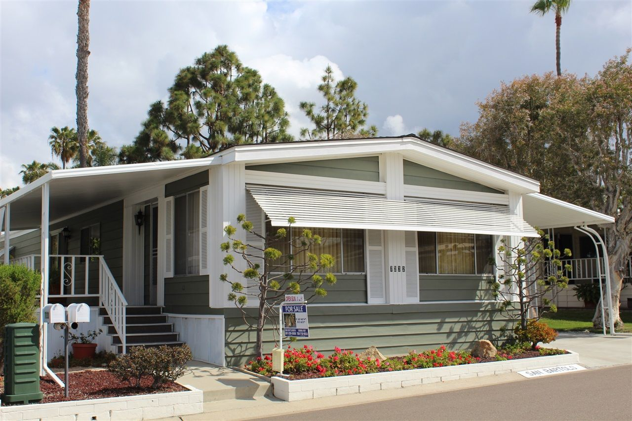 Main Photo: CARLSBAD SOUTH Manufactured Home for sale : 2 bedrooms : 7232 San Bartolo #207 in Carlsbad