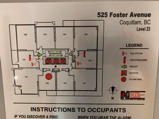 """Photo 19: 2305 525 FOSTER Avenue in Coquitlam: Coquitlam West Condo for sale in """"LOUGHEED HEIGHTS 2"""" : MLS®# R2604699"""