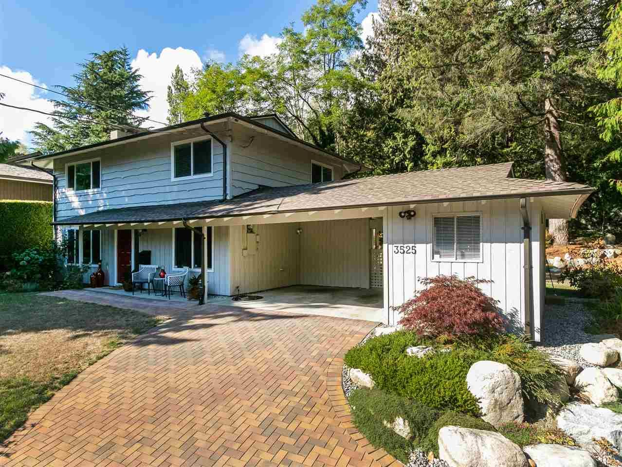 Main Photo: 3525 WESTMOUNT Road in West Vancouver: Westmount WV House for sale : MLS®# R2532280