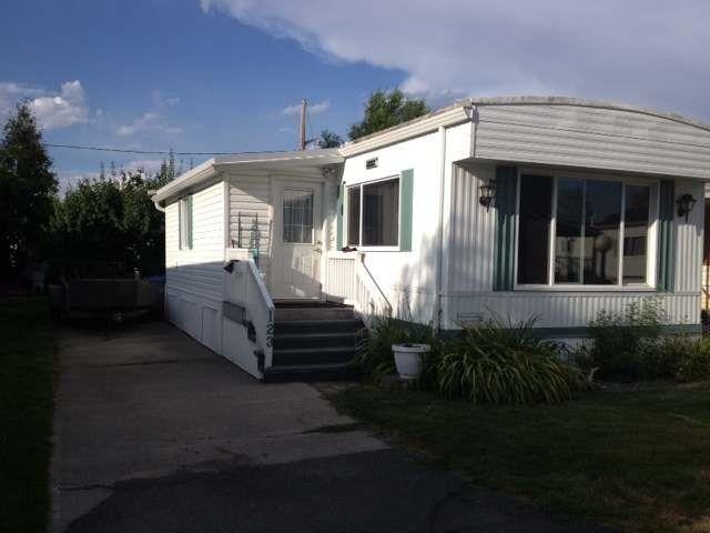 Main Photo: 123 2400 OAKDALE Way in : Westsyde Mobile for sale (Kamloops)  : MLS®# 118148