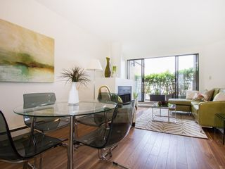 """Photo 6: 104 811 W 7TH Avenue in Vancouver: Fairview VW Townhouse for sale in """"WILLOW MEWS"""" (Vancouver West)  : MLS®# V1110537"""