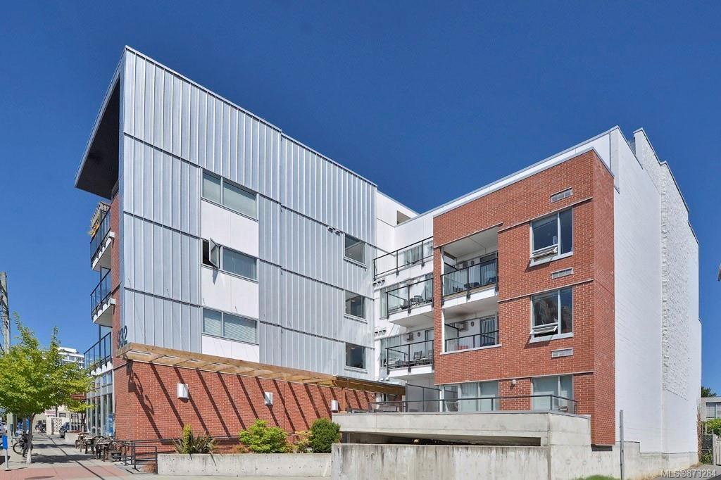 Main Photo: 208 932 Johnson St in : Vi Downtown Condo for sale (Victoria)  : MLS®# 873284