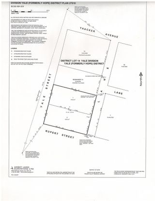 """Photo 3: 546 YALE Street in Hope: Hope Center Land for sale in """"HOPE CENTER"""" : MLS®# R2588886"""