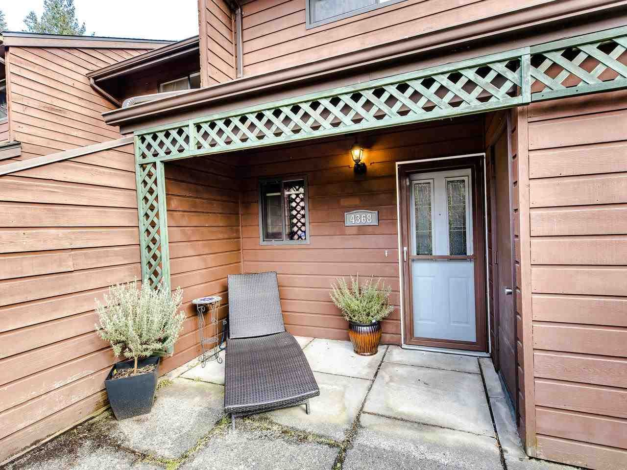 """Main Photo: 4368 GARDEN GROVE Drive in Burnaby: Greentree Village Townhouse for sale in """"GREENTREE VILLAGE"""" (Burnaby South)  : MLS®# R2439137"""
