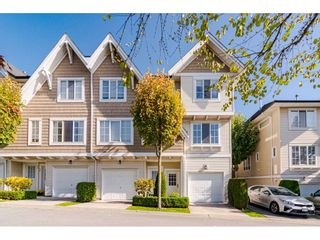 "Photo 1: 28 20560 66 Avenue in Langley: Willoughby Heights Townhouse for sale in ""Amberleigh 2"" : MLS®# R2506602"