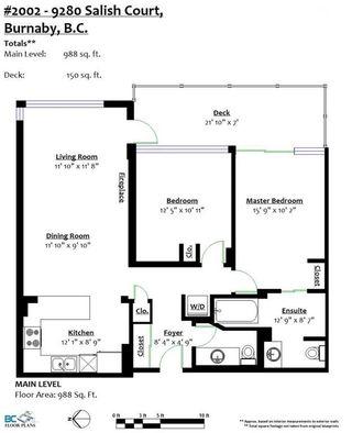 Photo 20: 2002 9280 SALISH Court in Burnaby: Sullivan Heights Condo for sale (Burnaby North)  : MLS®# R2222422