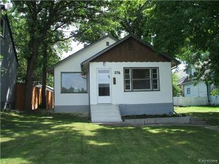 Photo 1: 376 Enfield Crescent in Winnipeg: St Boniface Residential for sale (2A)  : MLS®# 1623352