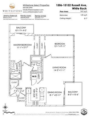 "Photo 24: 1506 15152 RUSSELL Avenue: White Rock Condo for sale in ""Miramar"" (South Surrey White Rock)  : MLS®# R2564183"