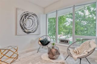 """Photo 4: 203 181 W 1ST Avenue in Vancouver: False Creek Condo for sale in """"BROOK - VILLAGE ON FALSE CREEK"""" (Vancouver West)  : MLS®# R2504203"""