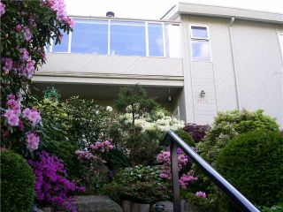 "Photo 1: 3725 PUGET Drive in Vancouver: Arbutus House for sale in ""Arbutus Ridge"" (Vancouver West)  : MLS®# V1090470"