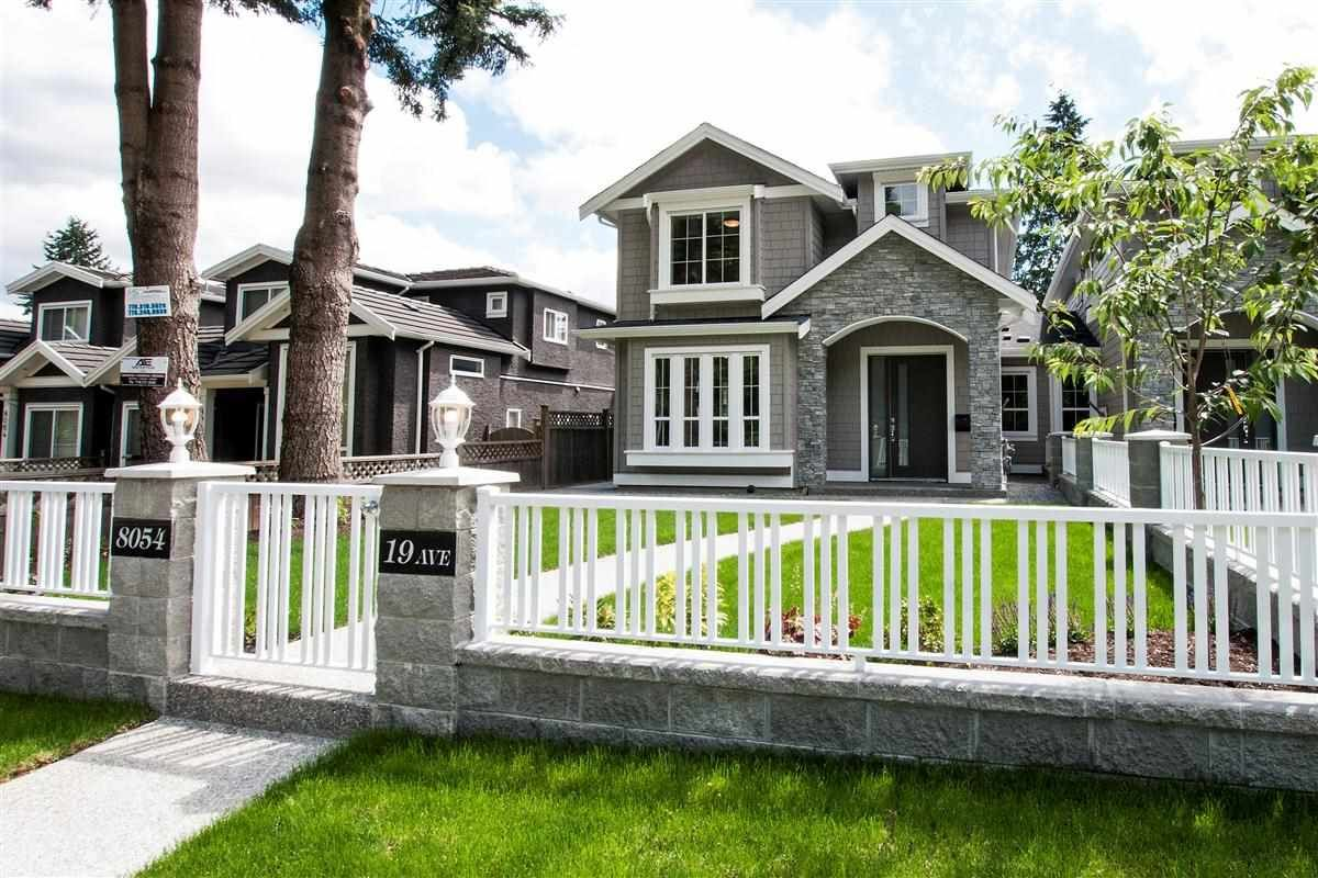 Main Photo: 8054 19TH Avenue in Burnaby: East Burnaby 1/2 Duplex for sale (Burnaby East)  : MLS®# R2188395