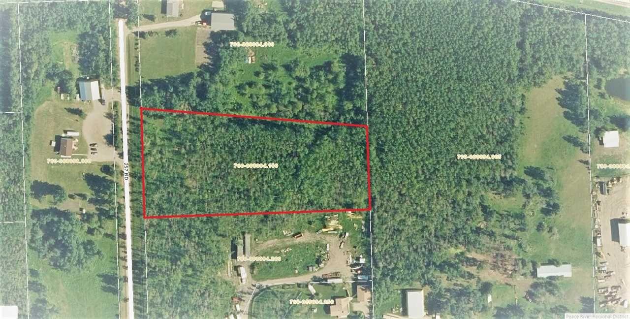 Main Photo: LOT 1 257 Road in Fort St. John: Fort St. John - Rural W 100th Land for sale (Fort St. John (Zone 60))  : MLS®# R2292016