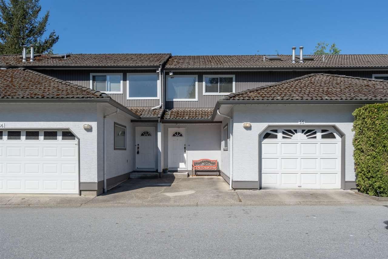 "Main Photo: 55 2401 MAMQUAM Road in Squamish: Garibaldi Highlands Townhouse for sale in ""HIGHLAND GLEN"" : MLS®# R2454622"