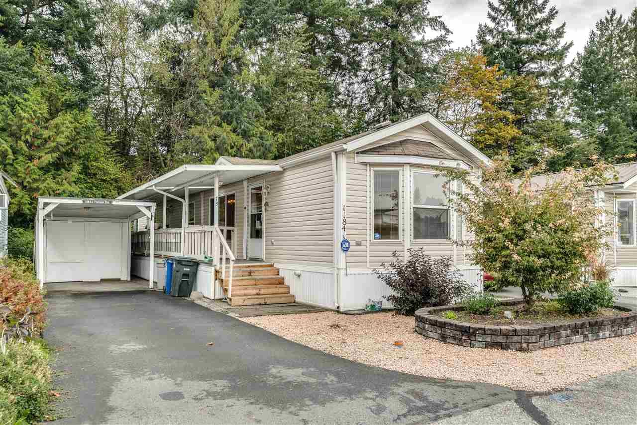 """Main Photo: 11841 PINYON Drive in Pitt Meadows: Central Meadows Manufactured Home for sale in """"Meadows Highlands Co-operative Park"""" : MLS®# R2510463"""