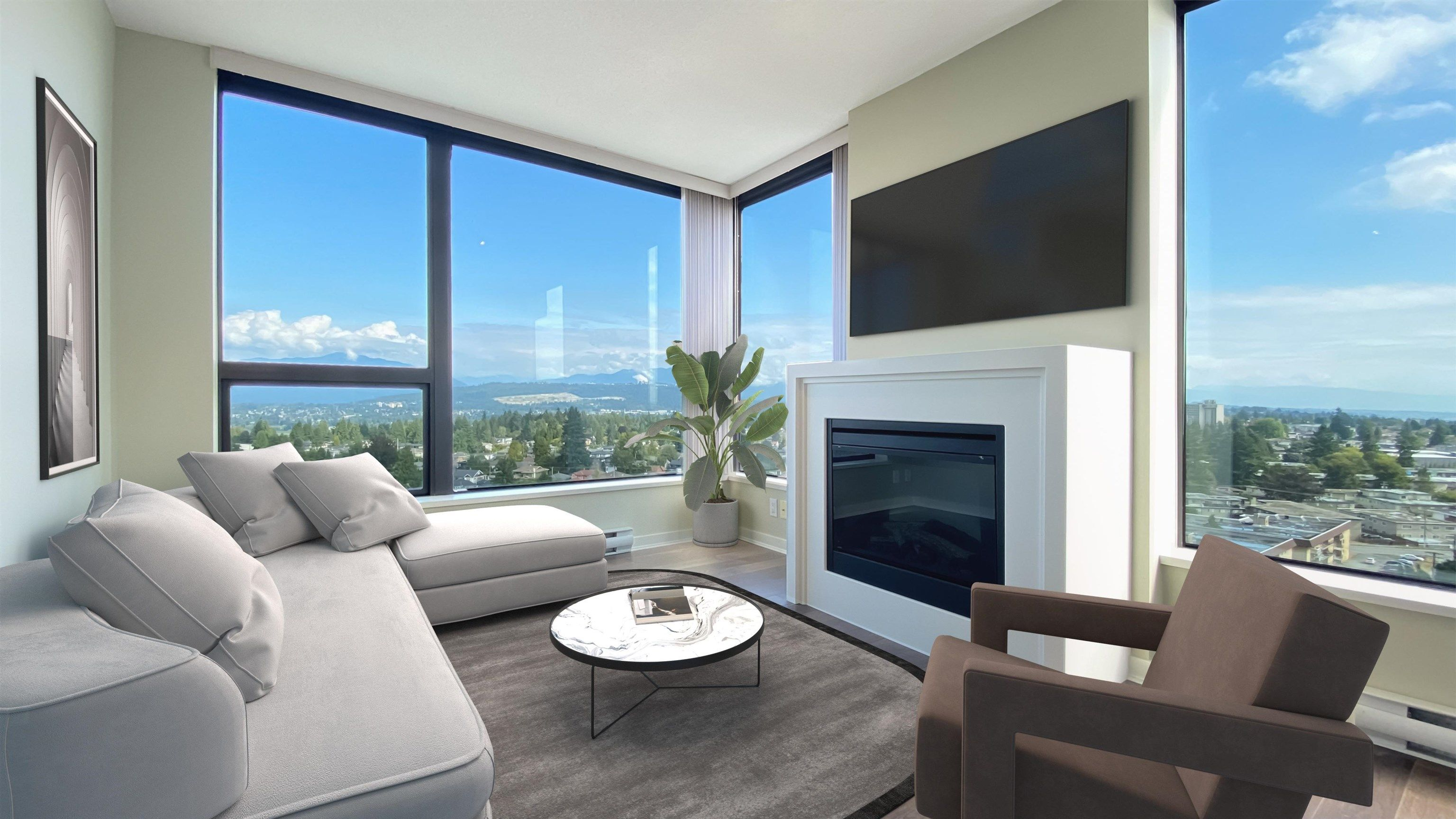 Virtual Staging - Living Room