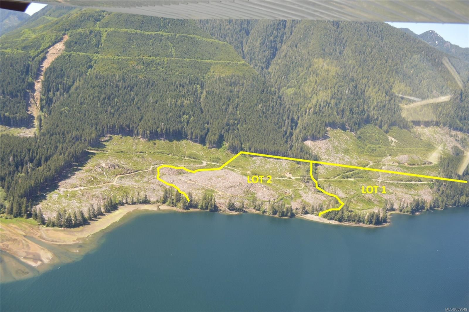 Main Photo: LT 2 Neroutsos Inlet in : NI Port Hardy Land for sale (North Island)  : MLS®# 859849