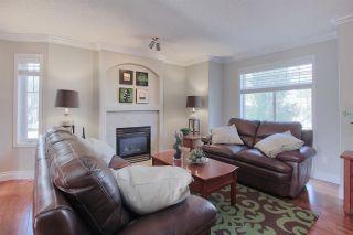 Photo 2: 4755 TERWILLEGAR CM NW in Edmonton: Zone 14 Townhouse for sale : MLS®# E4134773