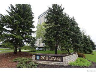 Photo 1: 200 Tuxedo Avenue in Winnipeg: River Heights / Tuxedo / Linden Woods Condominium for sale (South Winnipeg)  : MLS®# 1530509
