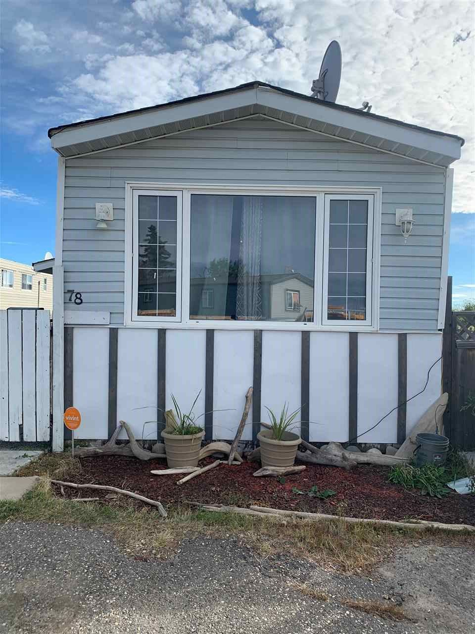 """Photo 1: Photos: 78 8420 ALASKA Road in Fort St. John: Fort St. John - City SE Manufactured Home for sale in """"PEACE COUNTRY"""" (Fort St. John (Zone 60))  : MLS®# R2495486"""