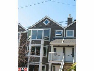 Photo 1: 1115 Elm Street in South Surrey: White Rock Townhouse for sale (South Surrey White Rock)  : MLS®# F1022172