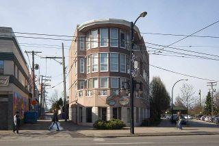 "Photo 1: 102 1688 E 8TH Avenue in Vancouver: Grandview Woodland Condo for sale in ""LA RESIDENZA"" (Vancouver East)  : MLS®# R2495355"