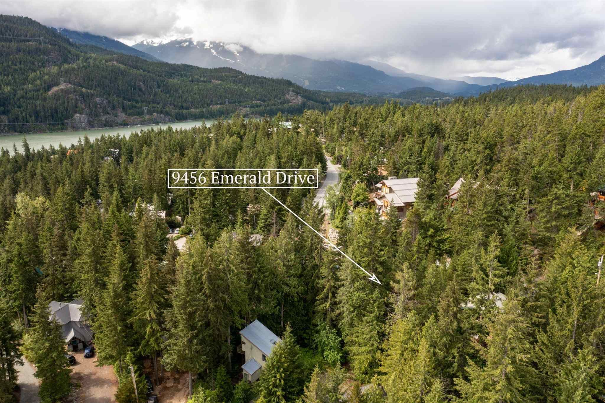 Main Photo: 9456 EMERALD Drive in Whistler: Emerald Estates Land for sale : MLS®# R2592127