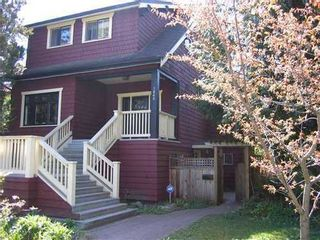 Photo 1: 3866 18TH Ave W in Vancouver West: Dunbar Home for sale ()  : MLS®# V954526