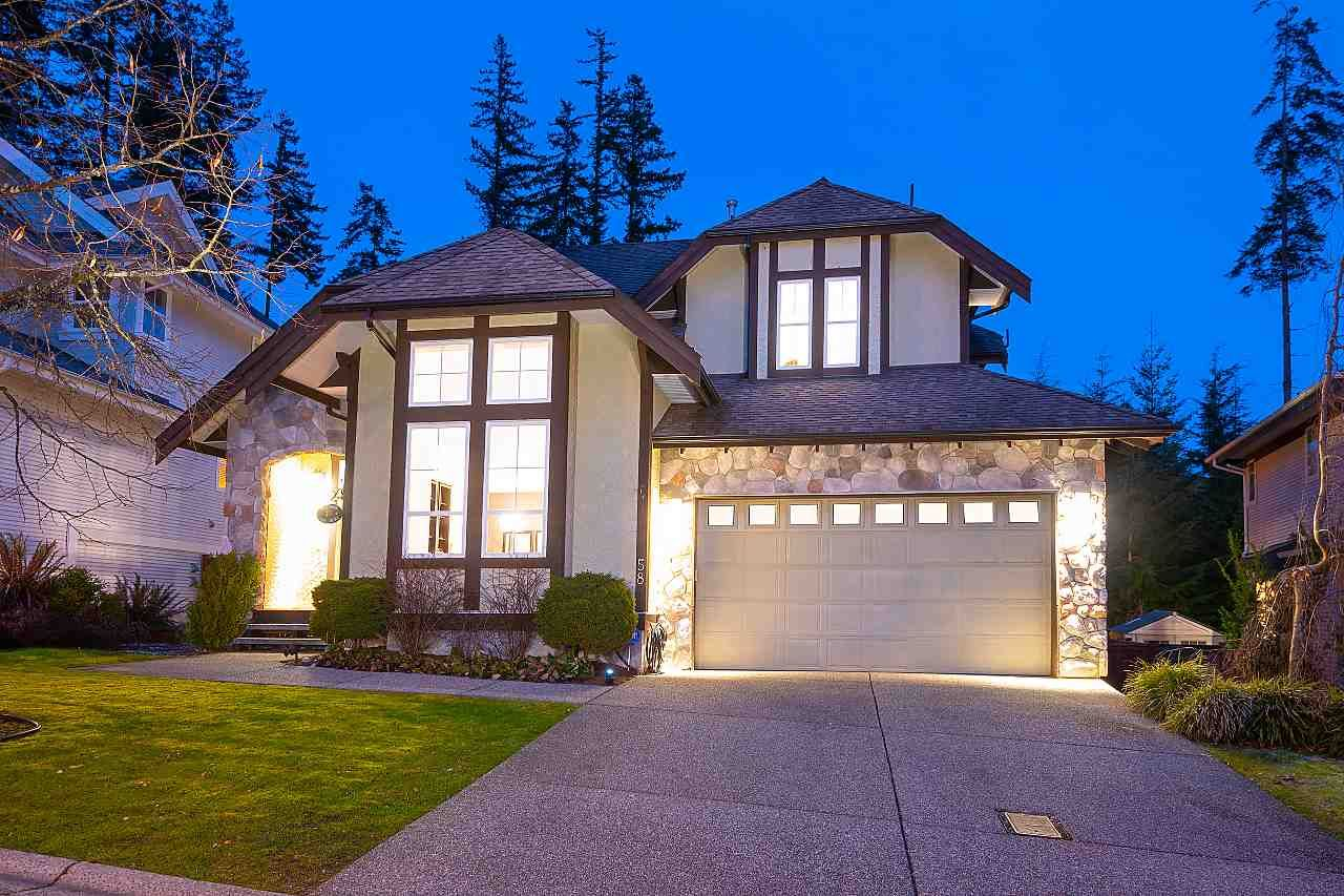 "Main Photo: 58 CLIFFWOOD Drive in Port Moody: Heritage Woods PM House for sale in ""HERITAGE WOODS"" : MLS®# R2536937"