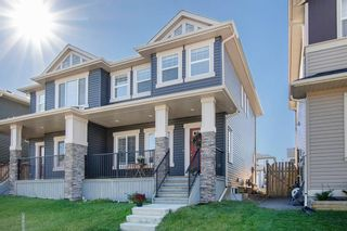 Photo 1: 157 WILLOW Green: Cochrane Semi Detached for sale : MLS®# A1014148