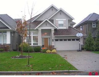 """Photo 1: 3555 ROSEMARY HTS Crescent in Surrey: Morgan Creek House for sale in """"ROSEMARY HEIGHTS"""" (South Surrey White Rock)  : MLS®# F2625147"""