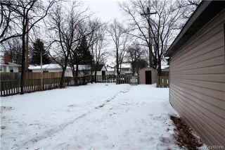 Photo 20: 1173 Roch Street in Winnipeg: Residential for sale (3F)  : MLS®# 1807285