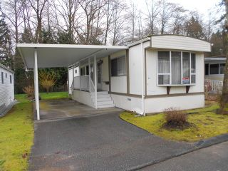 "Photo 1: 88 7850 KING GEORGE Boulevard in Surrey: East Newton Manufactured Home for sale in ""Bear Creek Glen"" : MLS®# F1432729"