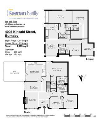 Photo 17: 4008 KINCAID STREET in Burnaby: Burnaby Hospital 1/2 Duplex for sale (Burnaby South)  : MLS®# R2346188