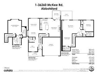 """Photo 39: 1 36260 MCKEE Road in Abbotsford: Abbotsford East Townhouse for sale in """"Kings Gate"""" : MLS®# R2560684"""