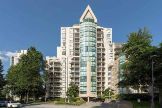 """Photo 1: 605 1189 EASTWOOD Street in Coquitlam: North Coquitlam Condo for sale in """"THE CARTIER"""" : MLS®# R2392375"""