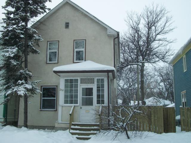 Main Photo: 278 AUBREY Street in WINNIPEG: West End / Wolseley Residential for sale (West Winnipeg)  : MLS®# 1100728