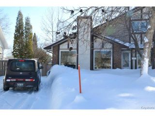 Photo 1: 14 Sandy Lake Place in WINNIPEG: Fort Garry / Whyte Ridge / St Norbert Residential for sale (South Winnipeg)  : MLS®# 1404040