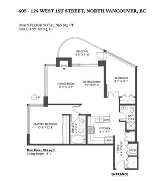 Photo 29: 405 124 W 1ST STREET in North Vancouver: Lower Lonsdale Condo for sale : MLS®# R2458347