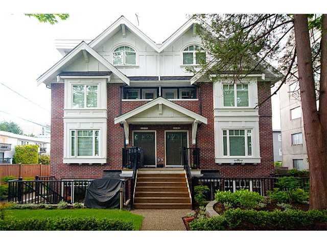 Main Photo: 2862 SPRUCE Street in Vancouver: Fairview VW Townhouse for sale (Vancouver West)  : MLS®# V836989