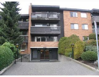 """Photo 1: 107 1011 4TH Avenue in New_Westminster: Uptown NW Condo for sale in """"Crestwell Manor"""" (New Westminster)  : MLS®# V683888"""