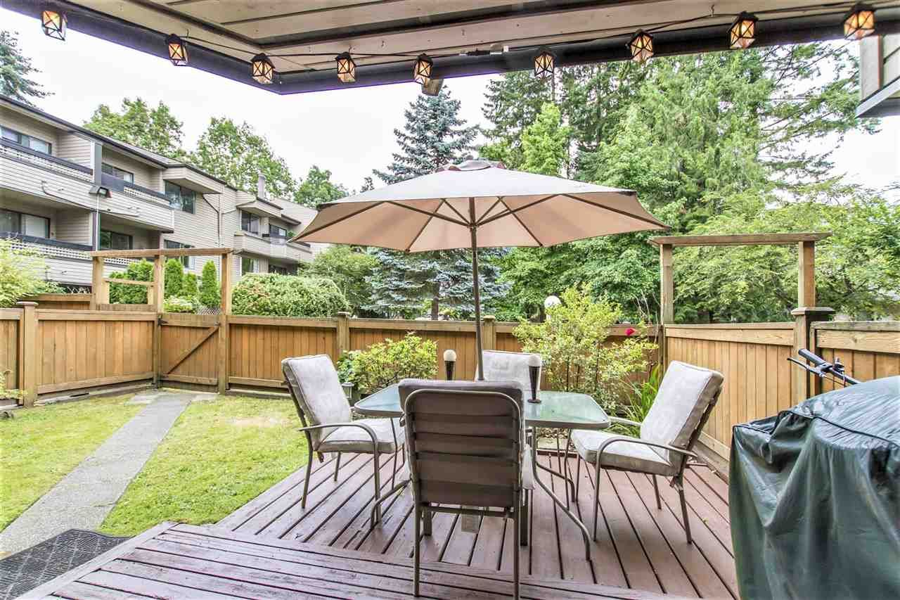 """Main Photo: 102 1195 PIPELINE Road in Coquitlam: New Horizons Condo for sale in """"DEERWOOD COURT"""" : MLS®# R2188123"""