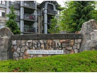 """Photo 3: 201 2988 SILVER SPRINGS Boulevard in Coquitlam: Westwood Plateau Condo for sale in """"TRILLIUM"""" : MLS®# V1072071"""