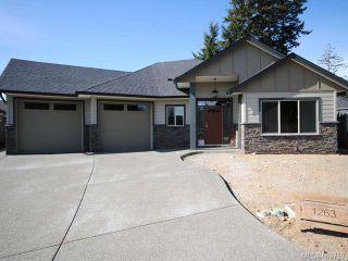Photo 1: 1263 Potter Pl in COMOX: CV Comox (Town of) House for sale (Comox Valley)  : MLS®# 669752