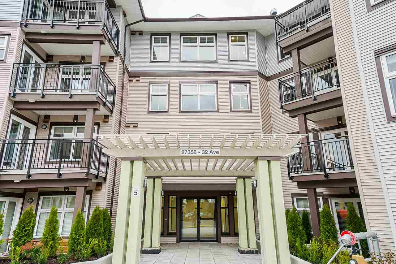 "Main Photo: 269 27358 32 Avenue in Langley: Aldergrove Langley Condo for sale in ""The Grand at Willow Creek"" : MLS®# R2534064"