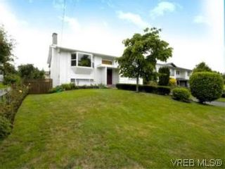 Photo 1: 4397 Columbia Dr in VICTORIA: SE Gordon Head House for sale (Saanich East)  : MLS®# 513130