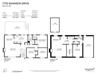 Photo 2: 7770 SWANSON Drive in Delta: Scottsdale House for sale (N. Delta)  : MLS®# R2606180