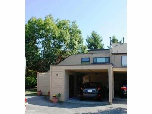"Main Photo: 19 7491 NO 1 Road in Richmond: Quilchena RI Townhouse for sale in ""QUILCHENA ESTATES"" : MLS®# V908854"